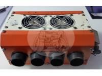 Печка-обогреватель салона автомобиля 24V 8 выходов (25*22*11см)