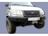 Бампер передний силовой Швеллерный на УАЗ Патриот