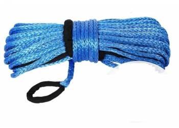 Трос для лебедки синтетический 12мм*28 метров (синий)