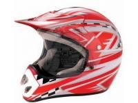 Шлем мотоциклетный кроссовый Bailide красный BLD-110 red