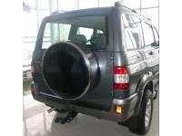 Чехол запасного колеса нержавейка ТП на УАЗ Патриот (C)